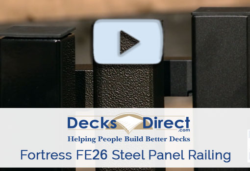 How To Install Fortress FE26 Railing