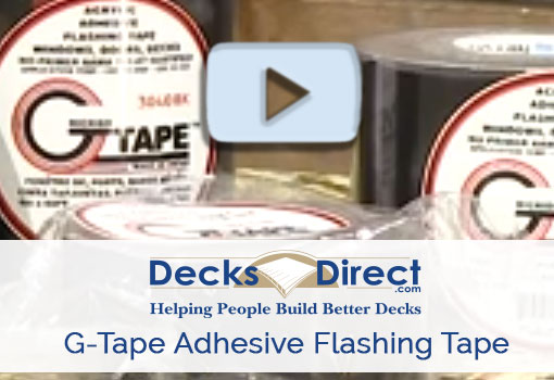 G-Tape Acrylic Adhesive Flashing Tape more information video