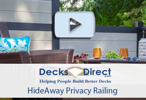 HideAway Privacy Panels Video