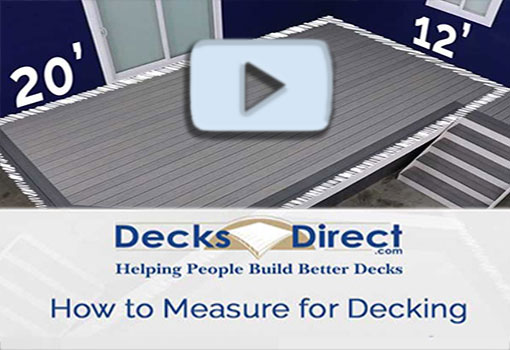How to Measure Your Deck