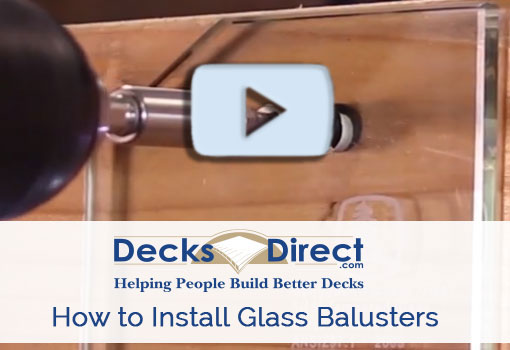 How to Install Face Mount Glass Balusters video