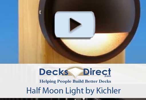 Kichler Half Moon Light video
