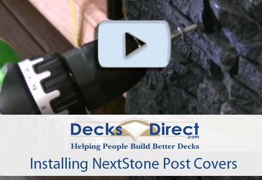 How to Install NextStone Post Covers