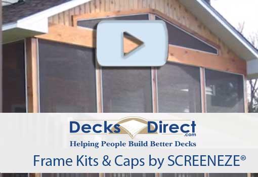 Screen Frame Kits & Caps by Screeneze