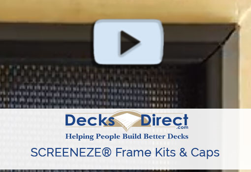 ScreenEZE screen frame kits more information video