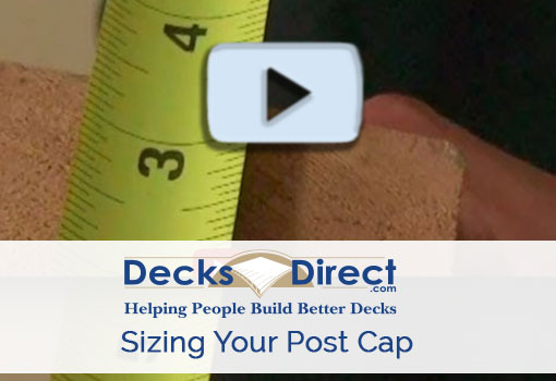 How to Find Post Cap Size