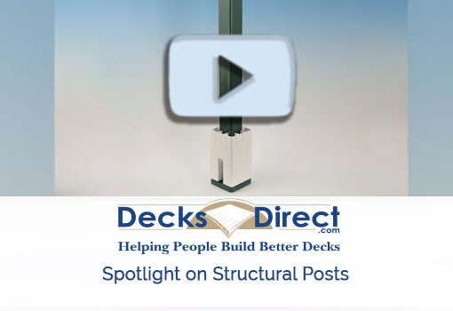 Product spotlight video on structural posts