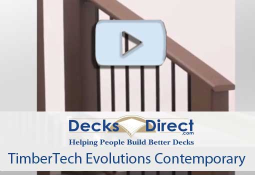 Video link to Timbertech Evolutions Contemporary Railing