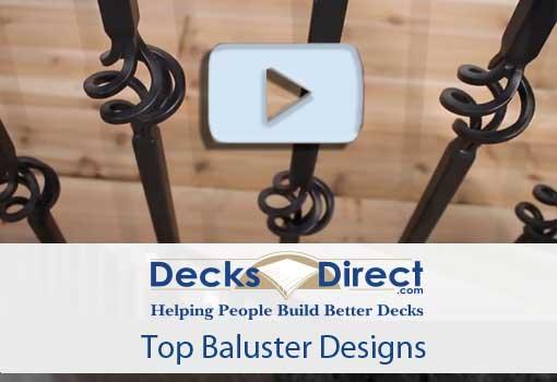 Top Baluster Designs