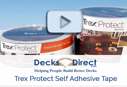 Trex Protect Self Adhesive Tape more information video