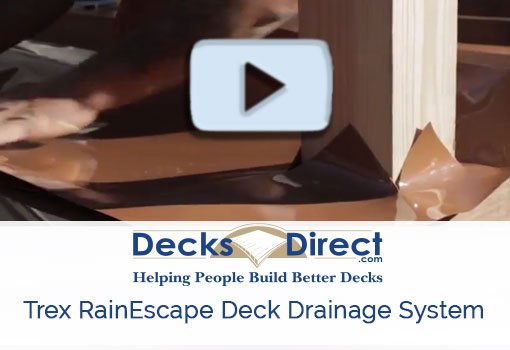 How to install Trex RainEscape Drainage video