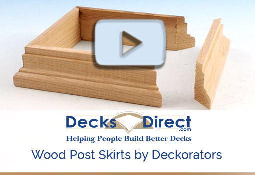 Wood Post Skirts Video Link