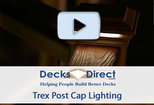 Trex Post Cap Lights