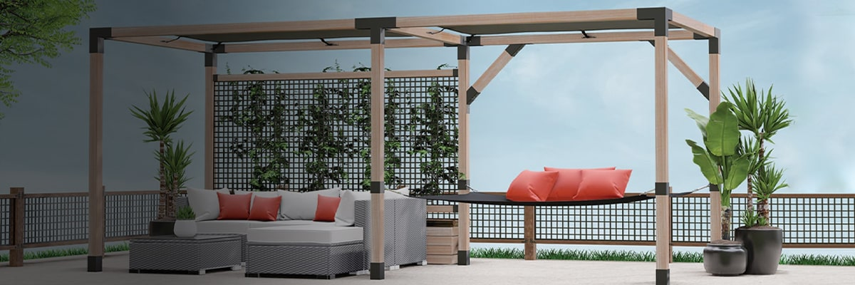 LINX Simplified Pergola System