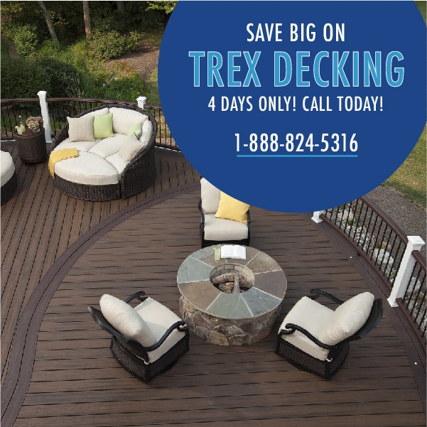 Trex Decking Black Friday Sale