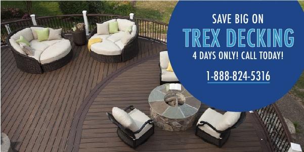 Shop Trex Decking Promotion