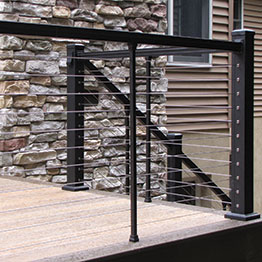 Shop Metal Cable Rail Systems - Prestige, KeyLink, and AGS ...