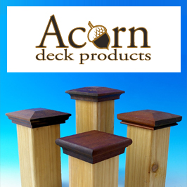 Acorn Deck Products Post Caps