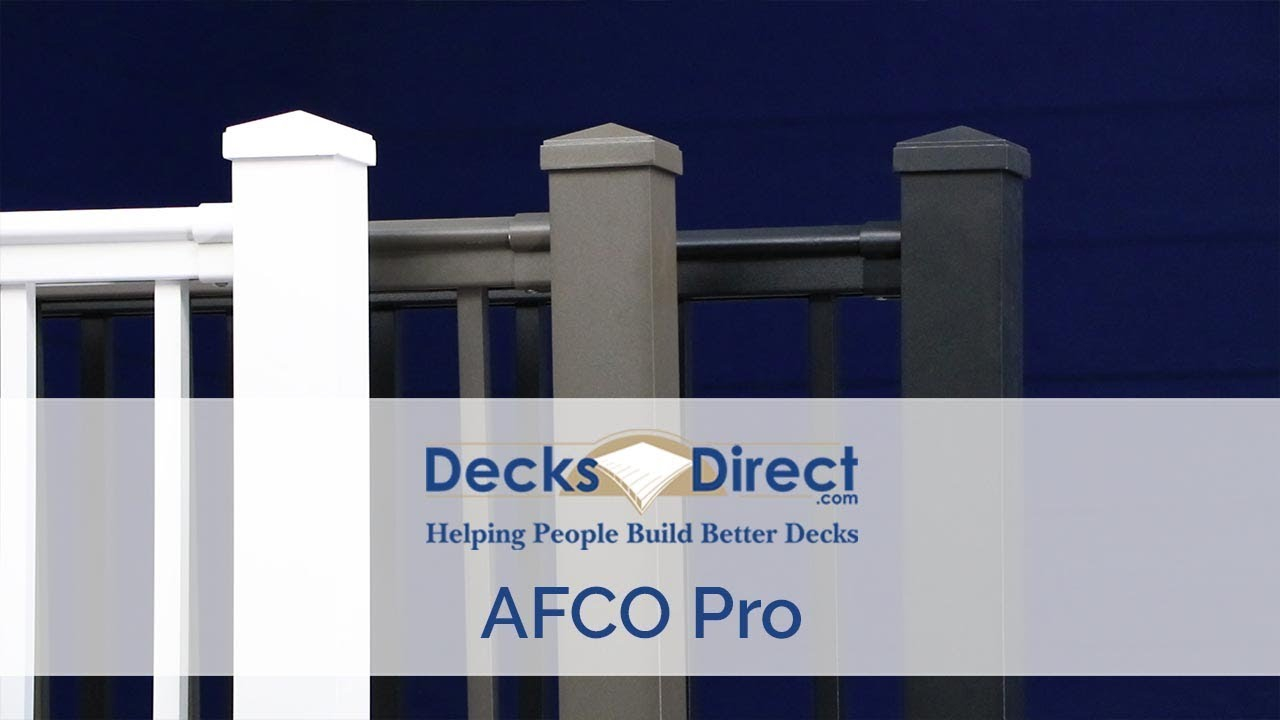 Discover AFCO 300 Series Metal Deck Railing Kits