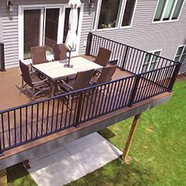 Metal Deck Railing Systems Aluminum