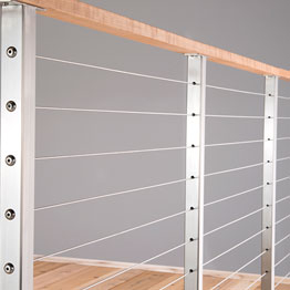 Horizontal Cable Railing Systems - Metal