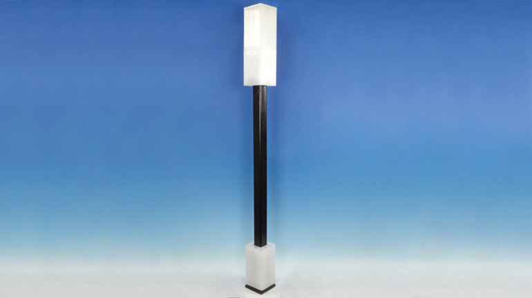 A Plumb-Perfect Adjustable Post Mount with a 42