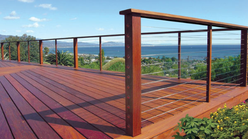 Feeney CableRail is an ideal solution for adding a steel cable railing system to your deck.