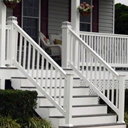 Composite & Vinyl Stair Railing Category Image