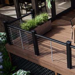 Deckorators CXT Pro Cable Railing