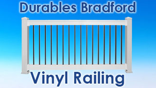 Bradford Vinyl Rail Kits by Durables