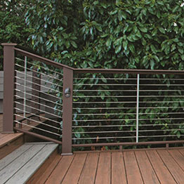 Horizontal Cable Railing Systems - Composite
