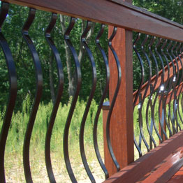 Face-Mount Balusters