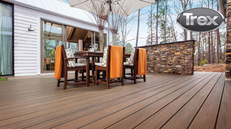 We have the largest in-stock selection of Trex decking!