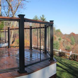 Vertical Cable Railing Systems Fortress Amp Westbury