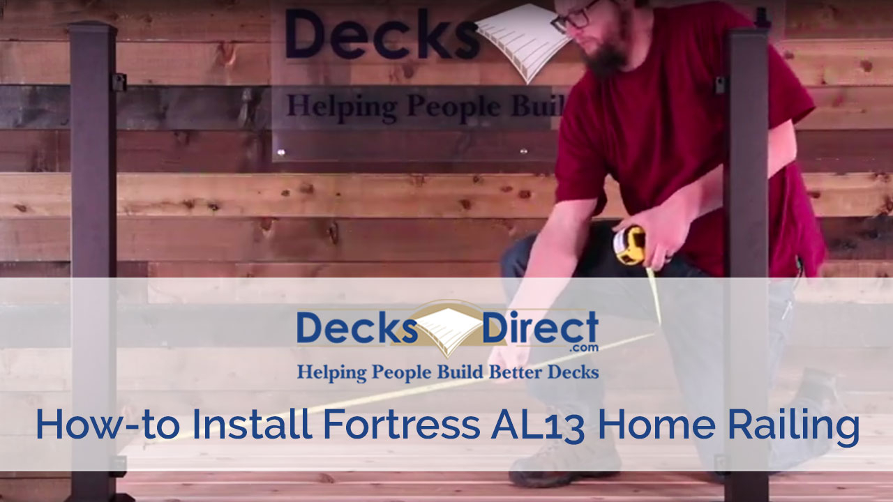 How to Install Fortress AL13 Home Railing