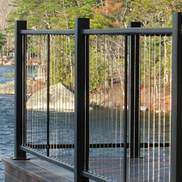 Fortress Vertical Cable Railing