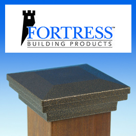 Fortress Metal Post Caps Category Image