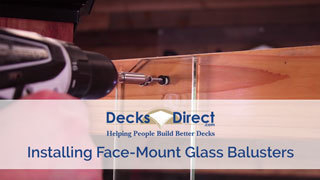 How to Install Glass Balusters