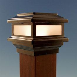 Deck & Fence Post Caps - Wood, Metal, Glass & Solar - DecksDirect
