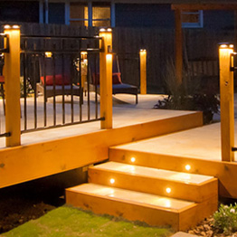 Fortress Accents Deck Lighting