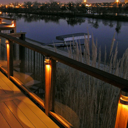 Deck Rail Lighting Category Image