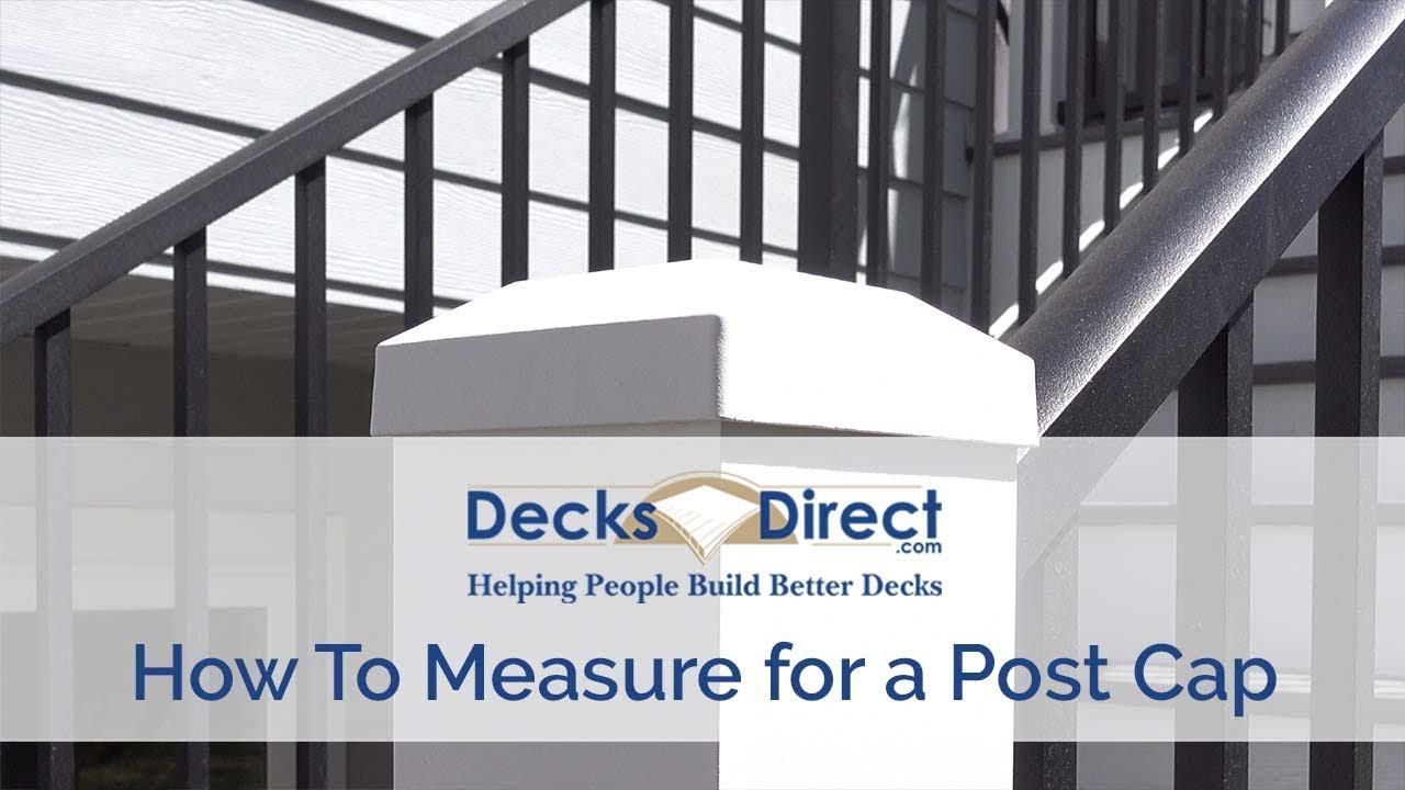 Post Caps Decksdirect