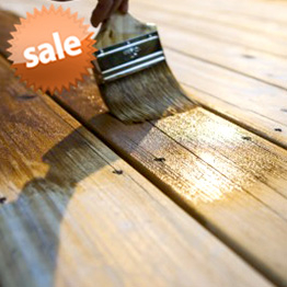 Sale & Closeout Stain Products