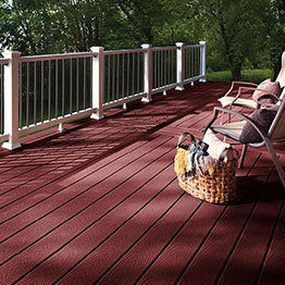Red Composite Decking Category Image