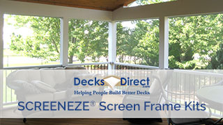 SCREENEZE Screen Frame Kits