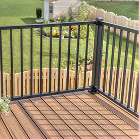 Metal Deck Railing Westbury Fortress Amp More Level