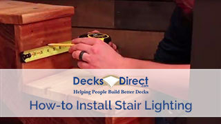 How to Install Staircase Lighting
