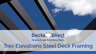 Trex Elevation Steel Deck Framing