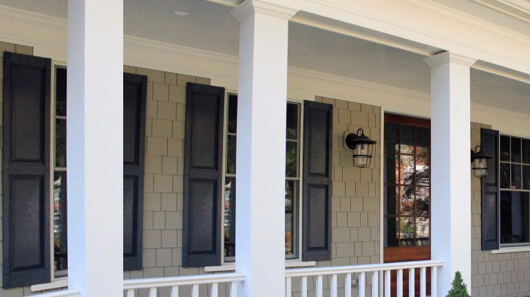 Vinyl columns can add curb appeal to your front porch
