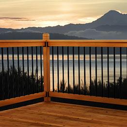 Vista Wood Deck Railing Kits